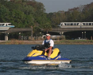 Jet Ski Tour Orlando, Disney's Contemporary Resort Marina - 1 Hour