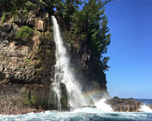 Hawaii Ocean Waterfall Tour, Kawaihae - 2 Hours
