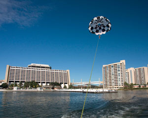 Tandem Parasailing Orlando, Disney's Contemporary Resort-Marina - 8 Minute Flight