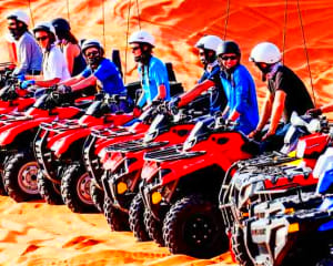 ATV Tour St. George, Hurricane Sand Dunes - 5 Hours