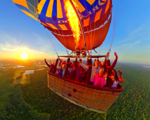 Hot Air Balloon Ride Orlando, Weekend - 1 Hour Flight