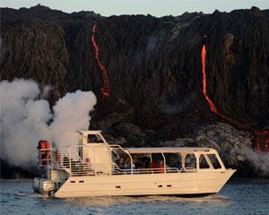 Big Island Volcano Boat Tour, Kohala - 2.5 Hours