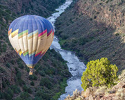 Hot Air Balloon Ride Taos - 1 Hour Sunrise Flight