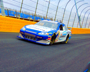 Nascar ride 3 laps phoenix international raceway for Savannah motors richmond va