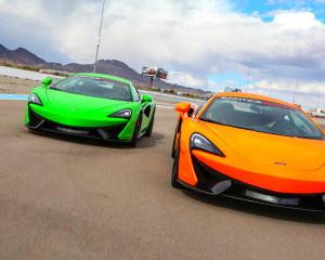 McLaren 570S Drive - Auto Club Speedway