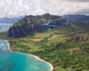 Helicopter Tour Oahu, Blue Skies Flight - 45 Minutes