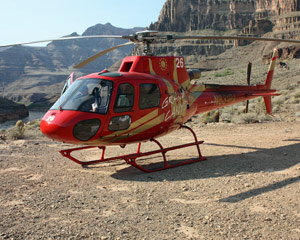 Helicopter Ride Grand Canyon West with Landing and West Rim Entrance - 15 Minutes