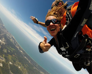 Skydive Michigan City - 10,000ft Jump