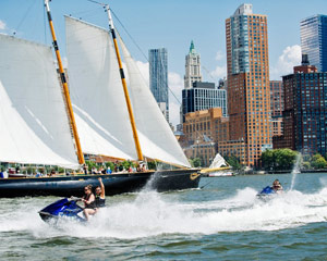 Jet Ski Tour Downtown New York City and Statue of Liberty - 1.5 Hours