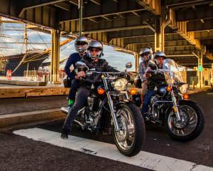 Motorcycle Tour New York City, Bridge and Tunnel - 2 Hours