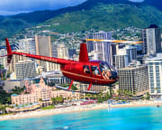 Private Helicopter Tour Oahu, North & South Adventure - 1 Hour