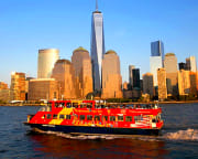 NYC Sightseeing Ferry Cruise, Hop-on,Hop-off - 90 Minutes (Includes FREE Admission to the 9/11 Tribute Center)