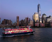 NYC Sightseeing Ferry Cruise, Twilight Tour - 90 Minutes