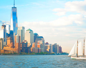 NYC Sail to Statue of Liberty - 2 Hours