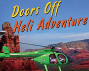 DOORS OFF Sedona Helicopter Tour of the Red Rocks, Bear Wallow Flight - 15 Minutes
