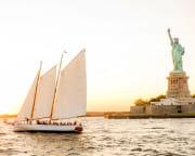 New York City Sunset Statue & Skyline Sail - 2 Hours