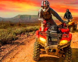 ATV Guided Tour Phoenix, Black Canyon - 2 Hours