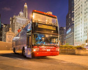 Chicago Trolley Night Tour, Hop-On Hop-Off Ticket