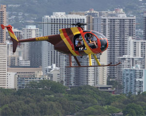 Helicopter Tour Oahu, Doors Off Waikiki Rush - 12 Minutes