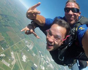 Skydive Kankakee - 12,500ft Jump