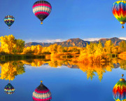 Hot Air Balloon Ride Boise, Private Basket - 1 Hour Flight