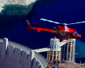 Deluxe coach helicopter and vip ground tour hoover dam for Hoover dam motor coach tour