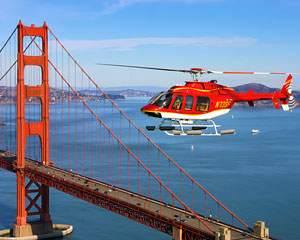 San Francisco Helicopter Tour with Napa Valley Landing and VIP Wine Tasting Experience - 3 Hours (FREE SHUTTLE SERVICE INCLUDED!)