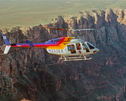 Helicopter and Sunset Jeep Tour Grand Canyon South Rim, North Canyon Heli Tour - 3 Hours