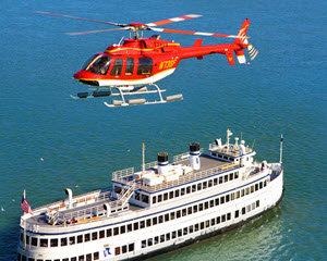 San Francisco Helicopter Tour, 25-30 Minute Flight (FREE SHUTTLE SERVICE INCLUDED!)