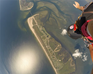 Skydive Galveston with Beach Landing - 14,000ft Jump