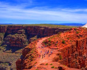 Motor Coach Bus Tour to Grand Canyon West Rim From Las Vegas - Full Day