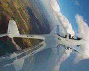 Glider Aerobatic Flight, Orlando - 3,000 Feet