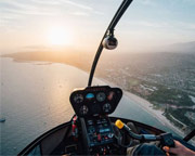 Santa Barbara Helicopter Ride, City Tour - 15 Minutes