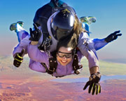 Las Vegas Tandem Skydive, Overton - 15,000ft Jump (FREE ROUND TRIP SHUTTLE INCLUDED!)