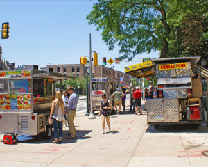 Philadelphia Walking Tour University City and Food Trucks, Beyond the Cheesesteak - 2.5 Hours