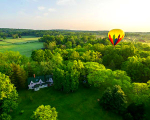 Hot Air Balloon Ride Philadelphia, Chester County - 1 Hour Flight