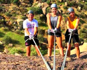 Rappelling Tour Phoenix, McDowell Mountains - Half Day