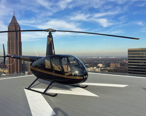 Private Helicopter Ride Atlanta - 15 Minutes