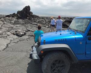 Jeep Tour Big Island, Lava Crawl Adventure - 1 Hour
