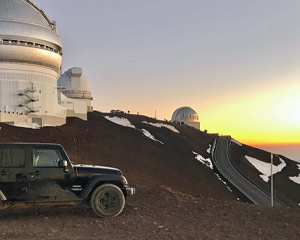 Sunset Jeep and Mauna Kea Tour Big Island, Kona Off Road Lava Tours - 8 Hours (Free Hotel Transportation)
