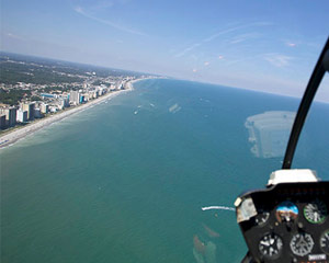 Private Helicopter Ride Ocean City and Atlantic City - 30 Minutes
