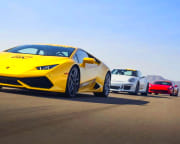 Battle of Legends 3 Supercar Drive (Includes Hotel Shuttle Pick Up) - Las Vegas