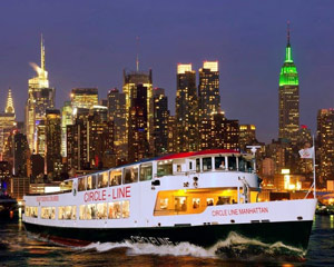 Lovely New York City Cruise, Pier 83 Midtown Harbor Lights Night Cruise   2 Hours