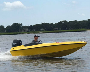 Speed Boat Tour Charleston, Single Driver - 2 Hours