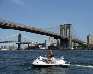 Jet Ski Tour New York City, Total NYC - 3 hours