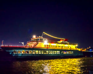 Dinner Cruise New York City, Hudson's Pier 81 - 2 Hour Sail with Champagne Reception