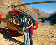 Grand Canyon West Rim Helicopter Tour with Colorado Rafting - Day Trip (Includes Las Vegas Hotel Shuttle)
