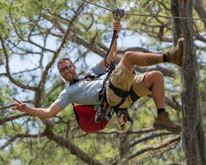 Zipline & Treetop Adventure Course, Brooksville - 4 Hours