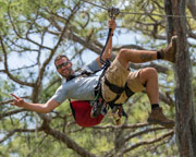 Zipline & Treetop Adventure Course, Brooksville - 4 Hours