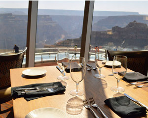 Grand Canyon West Rim Helicopter Tour with VIP Access to Skywalk and Gourmet Lunch - 70 Minutes Tour (Includes Hotel Shuttle)